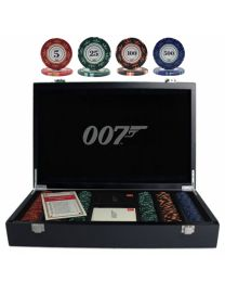 007 Luxe pokerset 300 chips