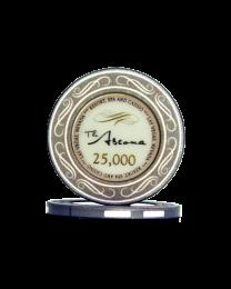 Ascona keramische casino chips 25.000