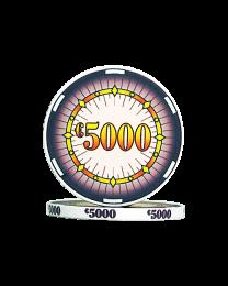 Ceramic pokerchips classics €5000