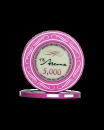 Ascona keramische casino chips 5.000