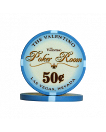 Poker Room chips 50 cents