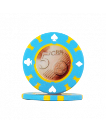 Pokerchips 5 Euro cent