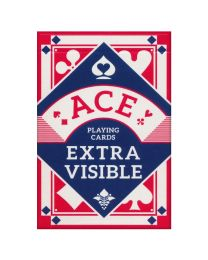 ACE speelkaarten extra visible rood