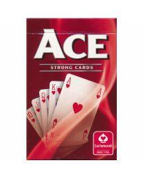 ACE sterke speelkaarten rood