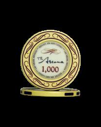 Ascona keramische casino chips 1.000