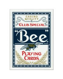 Bee playing cards blauw