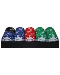 Bicycle pokerchips met tray