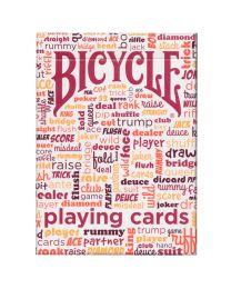 Bicycle Table Talk kaarten rood