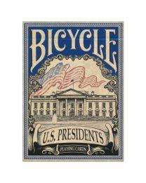 Bicycle U.S. Presidents speelkaarten blauw