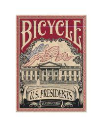 Bicycle U.S. Presidents speelkaarten rood