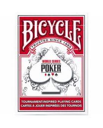 Bicycle WSOP speelkaarten rood