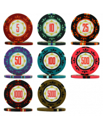Carta Mundi poker chips