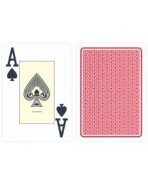 Cartamundi plastic casino speelkaarten rood