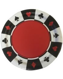 Casino borden Place Your Bets (8 stuks)
