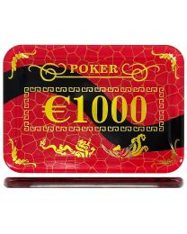 Casino poker plak €1000