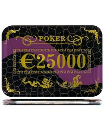 Casino poker plak €25000