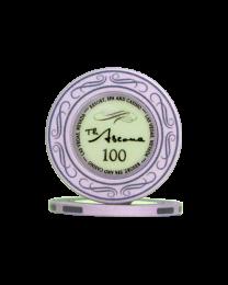 Ascona keramische casino chips 100