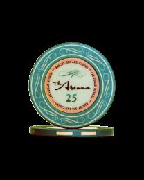 Ascona keramische casino chips 25