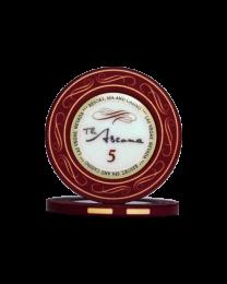 Ascona keramische casino chips 5