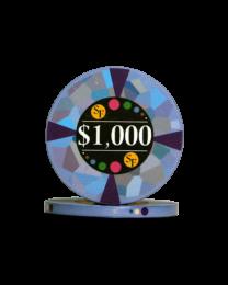 1000 Dollar keramische chips Mozaïek