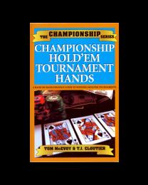 Championship Hold´em Tournament Hands