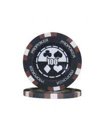 Pro poker chips 100