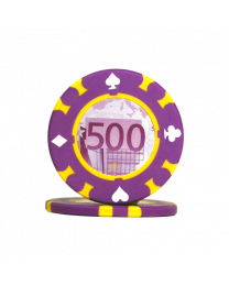 Pokerchips 500 Euro