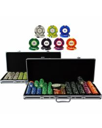Color Cash 1000 Plus Poker Chips Set