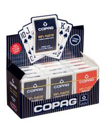 COPAG 12 pack plastic speelkaarten 4 jumbo index
