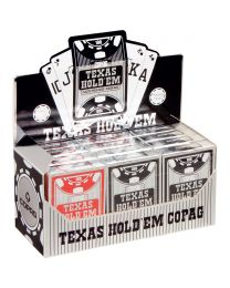 COPAG 12 Pak Plastic Pokerkaarten Peek Index