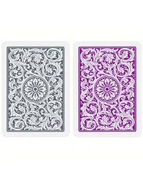 COPAG 1546 speelkaarten paars en grijs