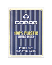COPAG 100% plastic Jumbo Face blauw
