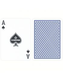 COPAG regular index playing cards blauw