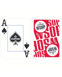 COPAG World Series of Poker kaarten rood