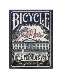 Bicycle U.S. Presidents speelkaarten blauw