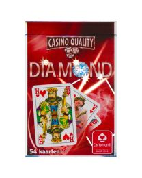 Diamond speelkaarten Cartamundi rood
