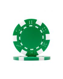 Pokerchips Dice groen