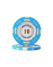 Euro pokerchips Monte Carlo €10