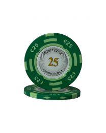 Euro pokerchips Monte Carlo €25