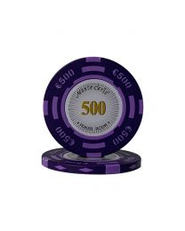 Euro pokerchips Monte Carlo €500