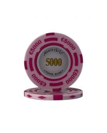 Euro pokerchips Monte Carlo €5000