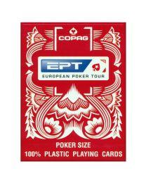 COPAG EPT speelkaarten rood