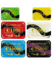 Euro casino poker plakken