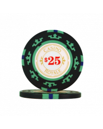 James Bond casinochips $25