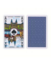 Joker Bridge speelkaarten blauw
