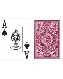 KEM plastic kaarten rood