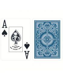 KEM plastic kaarten blauw
