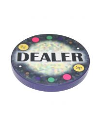 Keramische Dealer Button Mozaïek