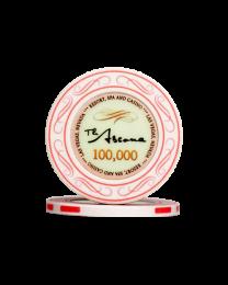 Ascona keramische casino chips 100.000