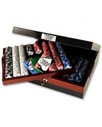 Luxe houten pokerset WPT